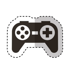 Game control isolated icon vector