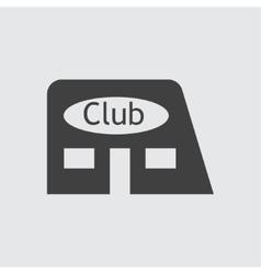 Club icon vector image