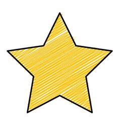 Christmas star decorative icon vector