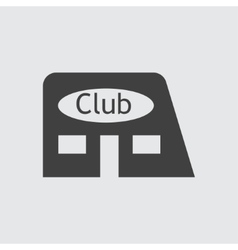 Club icon vector image