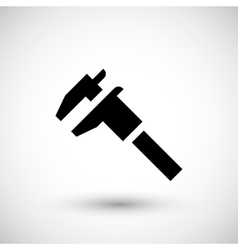 Modern caliper icon vector image