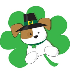 Irish puppy vector