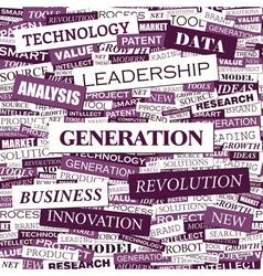 Generation vector