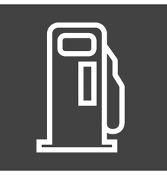 Gas station service vector
