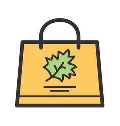 Thanksgiving shopping vector