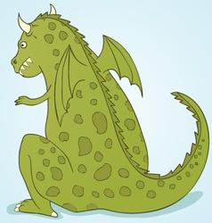 Wild dragon vector