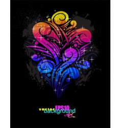 magical poster vector image