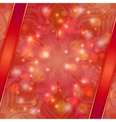 Red vintage abstract background vector