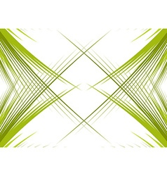 Green branches isolated vector