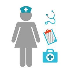 Nurse job vector