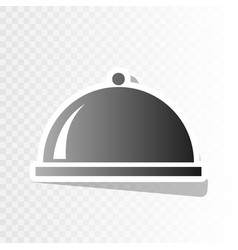 Server sign new year vector