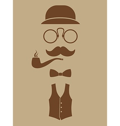 gentlemen vector image