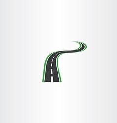 Highway logo icon autoroad symbol element vector
