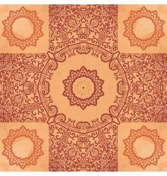 Elegant asian print on henna seamless texture vector