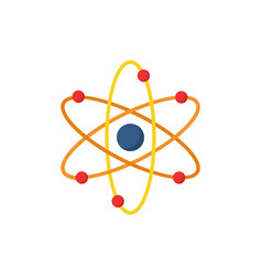 atom icon simple sign vector image vector image