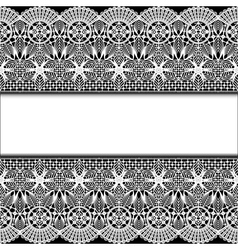 background with stripes white lace vector image vector image