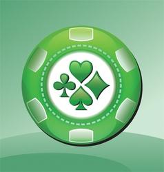 casino coin vector image