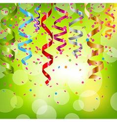 Festive Serpentine vector image vector image
