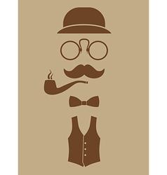gentlemen vector image
