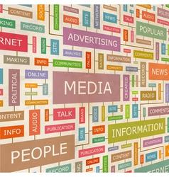 MEDIA vector image