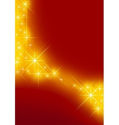 starry background vector image vector image