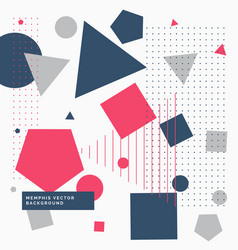 Abstrat background with geometric shapes vector