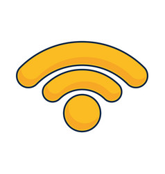 Wireless icon image vector