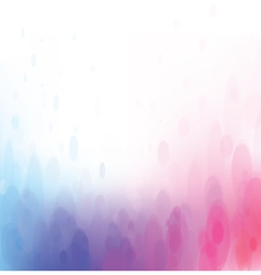Pink blue background bokeh vector
