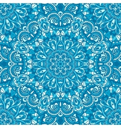 Oriental ornate seamless pattern vector