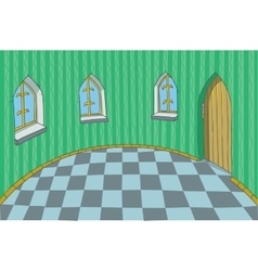 Room in a fabulous Palace vector image