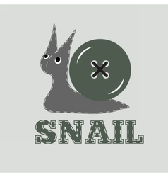 snail4 vector image vector image