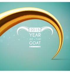 Year of the goat vector
