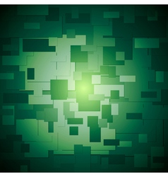 Dark green elegant background vector image vector image