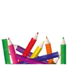 Drawing school s design vector