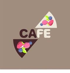 Logo for cafe vector