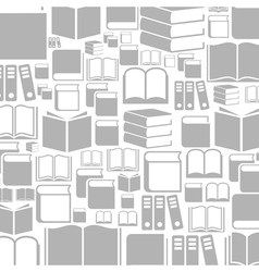 Book a background2 vector image vector image