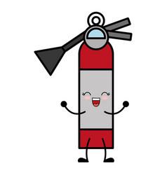 Extinguisher icon image vector
