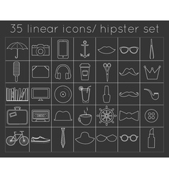 Signs and symbols hipster templates for your vector