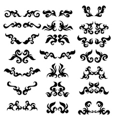 Tattoo set vector