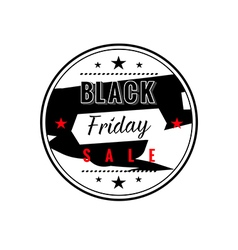 Black friday sale badges and labels vector