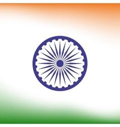 Abstract india flag background vector