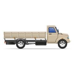cargo truck 05 vector image vector image
