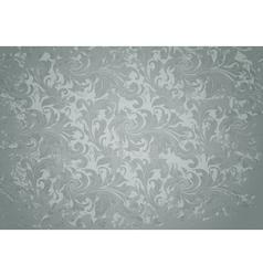 Grey Grunge Vintage pattern vector image