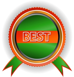 New best icon vector image