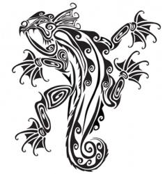 salamander vector image vector image