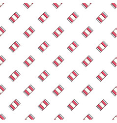Wrapped candy pattern vector