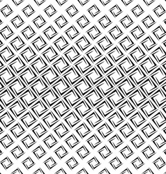 Monochrome repeating rectangular spiral pattern vector