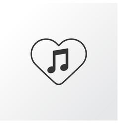 favorite tune icon symbol premium quality vector image
