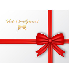 festive present template vector image vector image