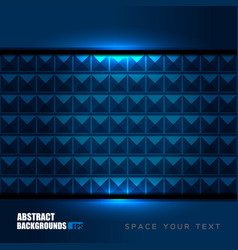 Geometric blue backgrounds design vector